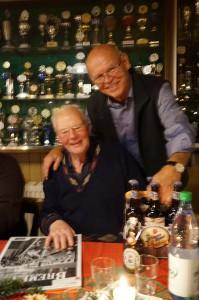 Gewinner Wilfried Rempe mit Seppl Splettstösser