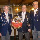 Foto: Während der Hauptversammlung v.L: Dieter Müller, Henry Dolischka und Rudolf Mildner